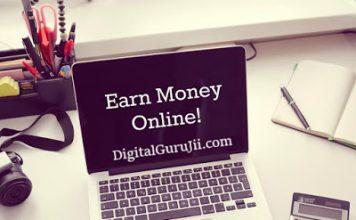 How to earn online digital guruji