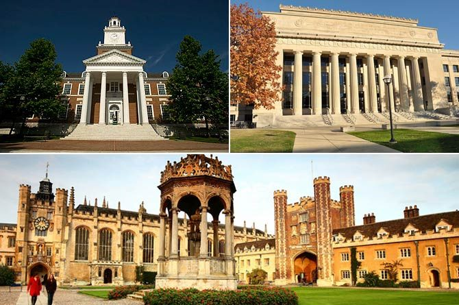 TOP 20 UNIVERSITIES OF WORLD
