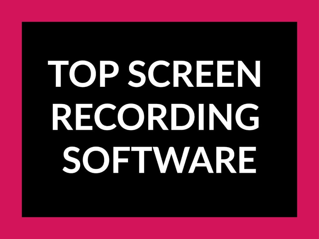 Best Screen Recorder software for windows (2019)