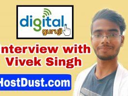 Interview with Vivek Singh Hostdust