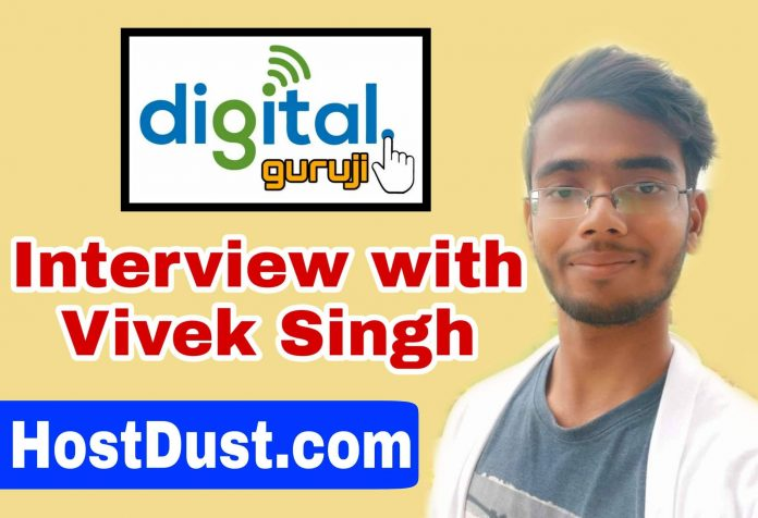 Interview with Vivek Singh Hostdust
