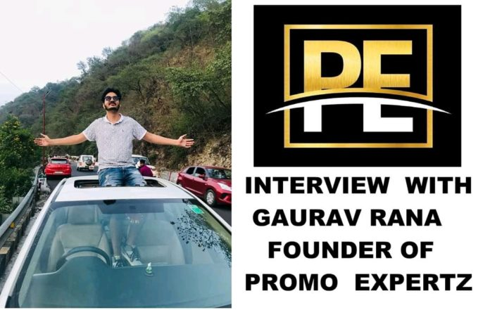 Interview with Gaurav Rana, Founder of Promo Experts