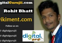 Interview with Founder of Wikiment Rohit Bhatt Digital Guruji