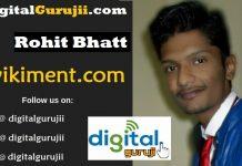 Interview with Founder of Wikiment Rohit Bhatt Digital Guruji