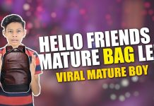 Interview with Mature Bag Wala Ladka - Vaibhav vora