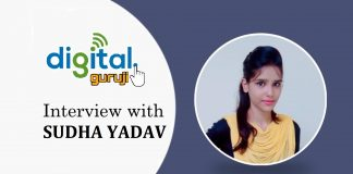 Interview with Sudha Yadav, Founder of Digital Guruji