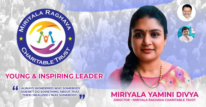 Interview with TRS Leader in Chandanagar, Next Corporator Miriyala Yamini Divya -Chandanagar